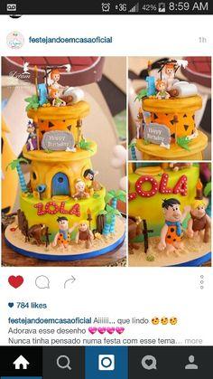 Awesome Flintstones cake