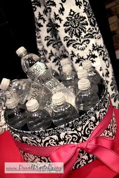 Bridal Show Water Bottle Labels