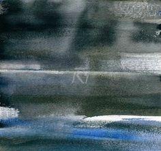 GRISAZUR: Acuarela sobre papel, 16,5x17,5 cm.Abr. 1, 2015