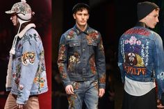 cool guys have been rocking patched-up denim jackets for years, which means you can find them in vintage stores or buy the patches online pretty easily. You can also wait until these