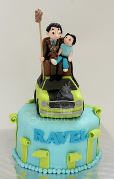 Mr Bean And Ravel Cupcake Cakes, Cupcakes, Bean Cakes, Mr Bean, Book Themes, How To Train Your Dragon, Amazing Cakes, Beans, Birthday Cake