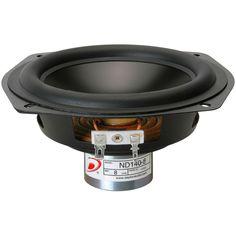 "Dayton ND140-8, 5-1/4"" #speaker, 8 ohm, midbass, #driver #speakers #DIY"