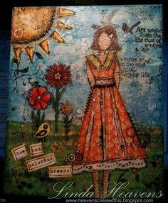 Linda Heavens - she had colorful dreams