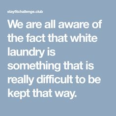We are all aware of the fact that white laundry is something that is really difficult to be kept that way. House Cleaning Tips, Cleaning Hacks, Clean Gas Stove Top, Declutter, Organize, Young Living, Clean House, That Way, Baking Soda