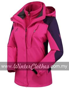 2014 New Hikking Waterproof Windbreaking Venture Sporty Jacket - Winter Clothes Light Blue Color, Winter Outfits Women, Solomon, Winter Clothes, Hooded Jacket, Winter Jackets, Sporty, How To Wear, Fashion