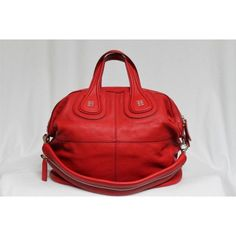 Red Givenchy bag