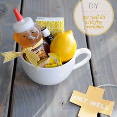 #DIY Get #Well Kit. If I am sick- do not come to my house with some mess I have to assemble myself when I am at death's door. I will make a note to sneeze in your vicinity. #sillyness