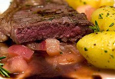 Steaks, Meat, Food, Beef Rib Steak, Barbecue Recipes Meat, Carne Asada, Port Wine, Meat Dish, Bulb