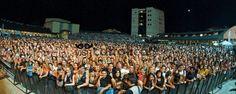 Arena della Regina dove si sono tenuti grandi concerti, da Sting a Skunk Anansie, Duran Duran, Toto e tanti altri.