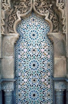 Door-Rabat Mosque in Moro (architecturia)