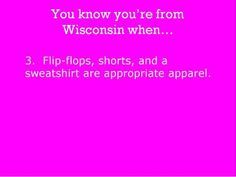 you know you're from wisconsin if - Google Search