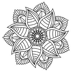 Mandala Coloring, Colouring Pics, Coloring Books, Stencils, Fun Crafts To Do, Doodle Ideas, Sun Art, Stationery Paper, Potholders