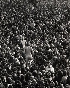 #hippie #woodstock #naked