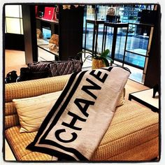 Chanel Blanket-Wrap yourself in WEALTH!