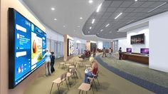 A wellness education center will feature the latest technology to allow anyone to research and receive instruction on disease management and health information through the use of touchscreen monitors that employ video and other educational tools.