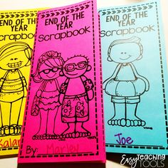 Forget those memory books this year and save some paper. Students love these simple end of the year pamphlets that let them list their favorite memory, things, friends, autographs, and thing they'll miss most! Second Grade Teacher, Teaching First Grade, Teaching Tools, Teaching Ideas, Teaching Resources, Bullying Prevention, School Displays, 4th Grade Classroom, End Of School Year