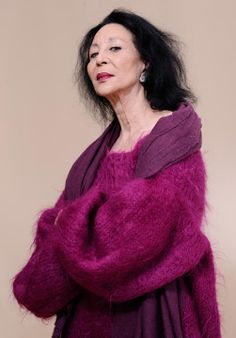 -China Machado   still modelling at age  83