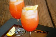 The Slow Roasted Italian: Sex on the Beach - A classic sweet summer cocktail that everyone has heard of, but not everyone has had: Sex on the Beach.  A must this summer!