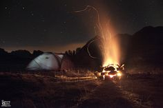 Camping under the stars | Flickr - Photo Sharing!