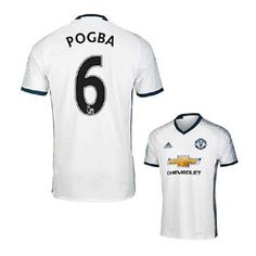 adidas   Manchester United Pogba #6 Jersey (Alternate 2016/17)