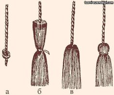 Yarn Crafts, Sewing Crafts, Diy And Crafts, Macrame Projects, Yarn Projects, Diy Tassel, Tassels, Couture Main, Macrame Tutorial