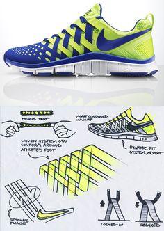 """Zapato inspirado en los """"atrapa novios""""."""