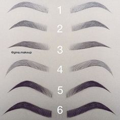 How to shape perfect brows - permanent brows - microblading & powder ombre like recently I had a blond crush, and am still thinking of going blonde. I have now decided to have my brows micro-blended or… Eyebrow Makeup Tips, Permanent Makeup Eyebrows, Eye Makeup, Eye Brows, Makeup List, Eyebrows On Fleek, Eyebrow Pencil, Good Eyebrows, Eyebrow Products
