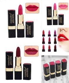 [Visit to Buy] Cosmetics Lip Kits Color Waterproof Long Lasting Sweet Pink Red Pigment Matte Lipstick Makeup #Advertisement