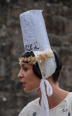 Le Festival de Cornouaille célèbre chaque année la musique bretonne. Quimper, Finistère.