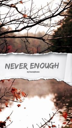 Never Enough | @stylinsonphones