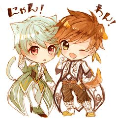 Tales of Zestiria Sorey and Mikleo