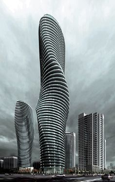 Fondly dubbed the Marilyn Monroe towers by local residents, the Absolute Towers parallel the twisting fluidity or natural lines found in life.
