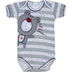 Body de Verão para Bebê Menino Ursinho - Patimini