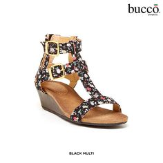 Bucco Flonica Wedge Sandals - Assorted Colors at 59% Savings off Retail!