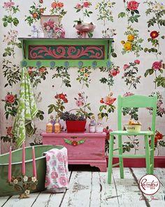 Annie Sloan • Paint & Colour: Janice Issitt's Boho Bathroom
