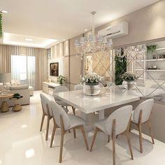 Cute modern kitchen design on a budget 38 Interior Design Kitchen, Interior Design Living Room, Living Room Decor, Interior Livingroom, Elegant Dining Room, Dining Room Design, Dining Rooms, Dining Table, Sweet Home