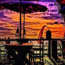 @ La planca. seminyak - bali | summer,  sunset & beer. what could be better ? :)