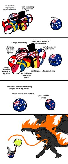 Dangerous Wildlife https://www.reddit.com/r/polandball/comments/2uee4b/dangerous_wildlife/