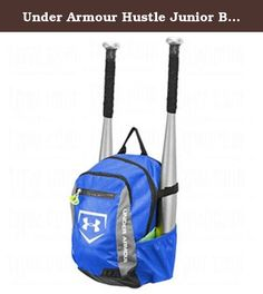 Under Armour Hustle Junior Bat Pack , Royal . Designed for the aspiring youth athlete for practice, game day or school, the Under Armour® Hustle Jr. Bat Pack will help your player stay organized. The UA Hustle Jr. T-Ball Backpack features UA Storm (DWR) waterproof treatment and a reinforced bottom to provide long-lasting durability. HeatGear® adjustable shoulder straps and a padded back panel add comfort while on the go, and a PTHTM valuables compartment adds functionality. Product…