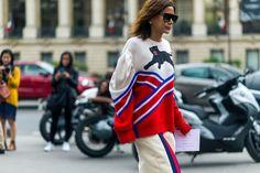 Christine Centenera in a Gucci sweater