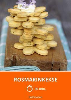 Rosmarinkekse - smarter - Zeit: 30 Min. | eatsmarter.de