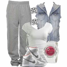 Bummy swag.. Minus the watch lol(: www.nikeairmaxshoppingonline.com nike shoes,fashion nikes for women,save up to 75%