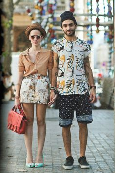 Couples who dress alike... From the Sartorialist book.