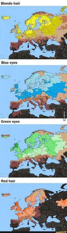 Geography, Europe, Traits