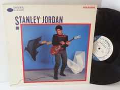 STANLEY JORDAN magic touch - JAZZ, BLUES, Jazz-rock-prog, nearly jazz and nearly blues!