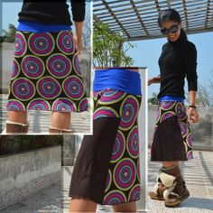Psychedelic◎Mix Skirt #fashion #psychedelic