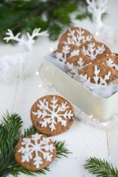 Cookies de Noël végétaliens