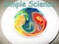 Simple Science experiement for kids - easy prep and cleanup (my favorite kind!)    CrafterMom.com