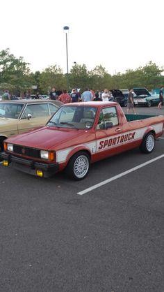 Volkswagen Sportruck Small Pickups, Vw Pickup, Beetles, Volkswagen, Rabbit, Golf, Bike, Antique, Cars