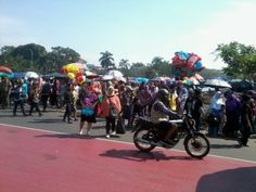 Gasibu, Surga Warga Bandung di Akhir Pekan